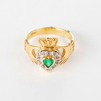 Diamond-Claddagh1