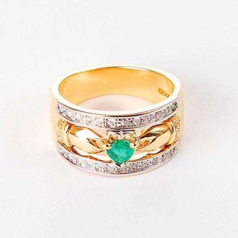 Diamond-Emerald-Band1