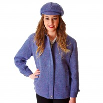 JR Zipped Jacket Cap Lilac