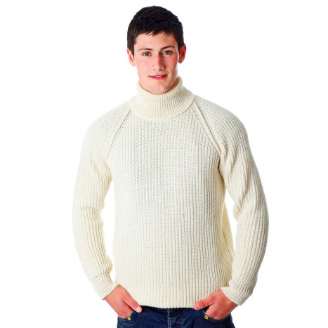 Tom Crean Polo Neck Sweater at Moriartys