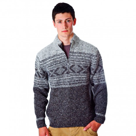 Zip Neck Sweaters at Moriartys