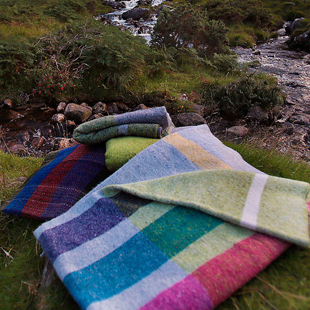 Woollen Throws and Blankets