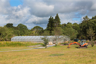 Heather Restaurant Polytunnels