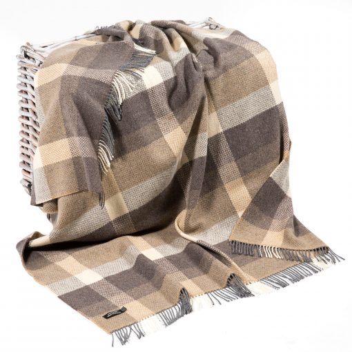 Merino Cashmere Throw 1413