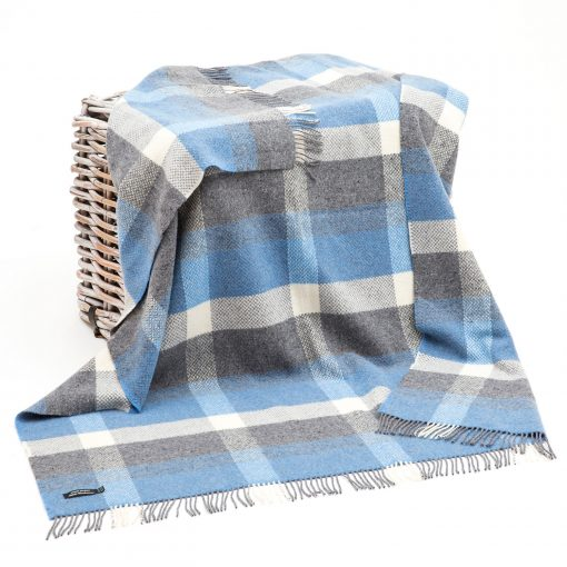 Merino Cashmere Throw 1414