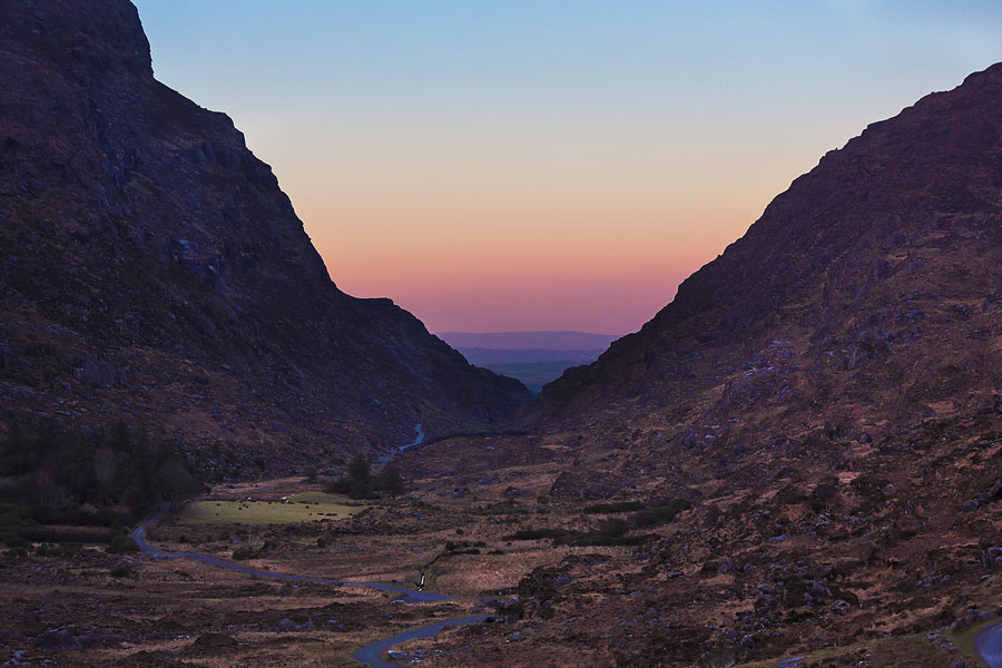 Gap of Dunloe sunset