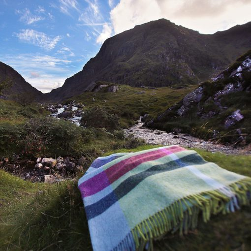 Handwoven Donegal Throws