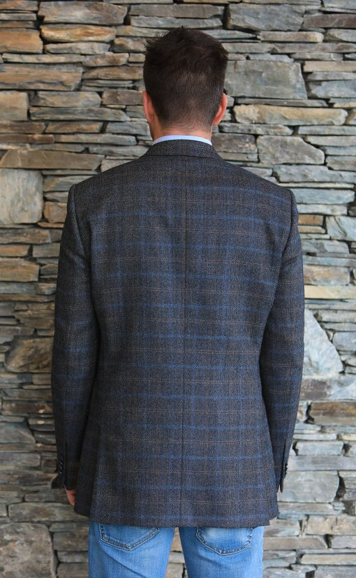 Magee Tweed Sportsjacket back