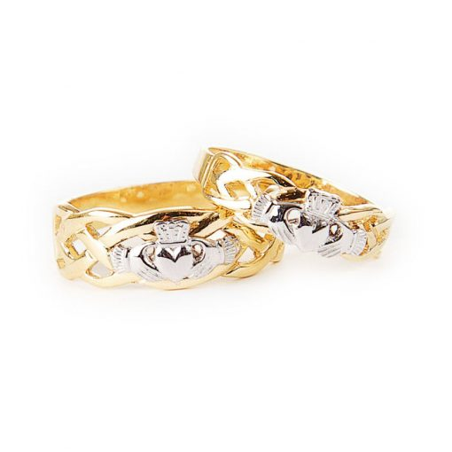Mens Unity Claddagh Ring