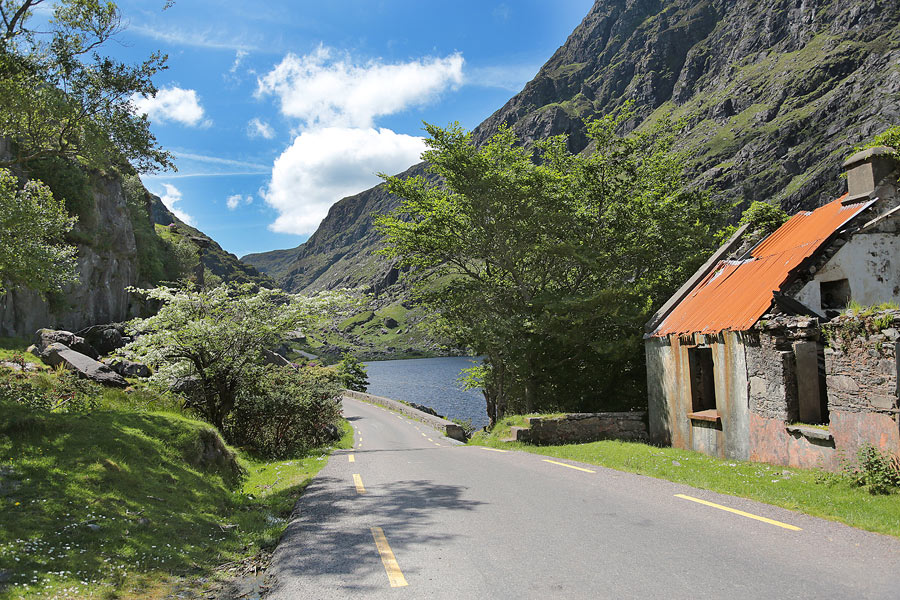 The Old Barracks Gap of Dunloe