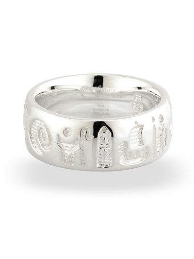 History of Ireland ring