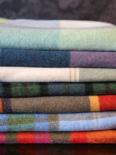 100% Lambswool Throws