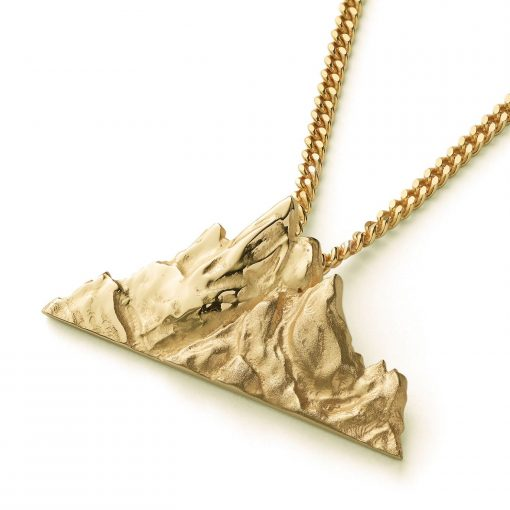 skelligs Irish gold pendant