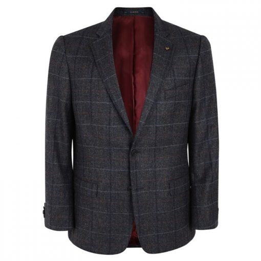 Charles Hobson grey check Sports Jacket