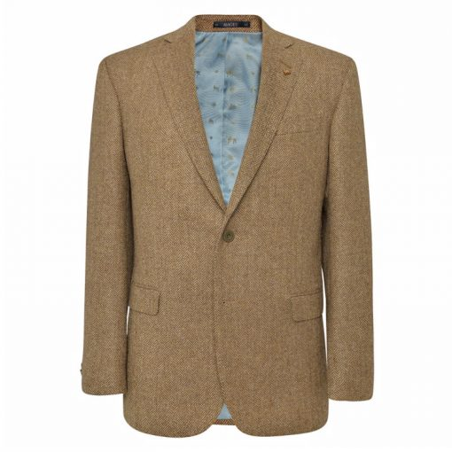 Magee brown herringbone Sports Jacket