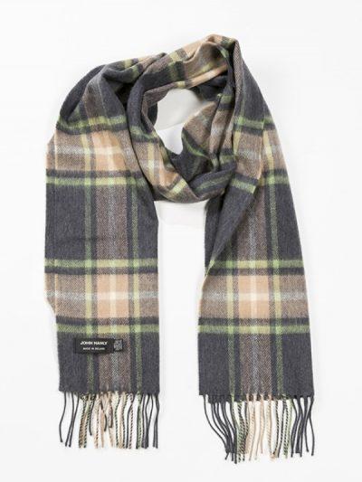 green grey scarf