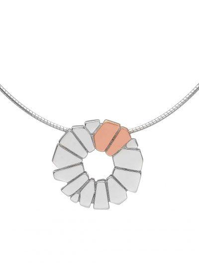 silver Irish gold pendant