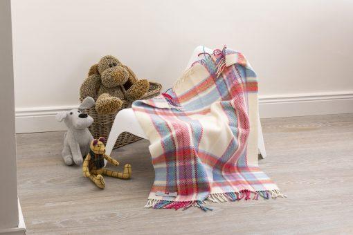 Merino Cashmere Baby Blanket
