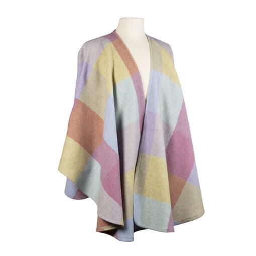 ladies wool wrap cape