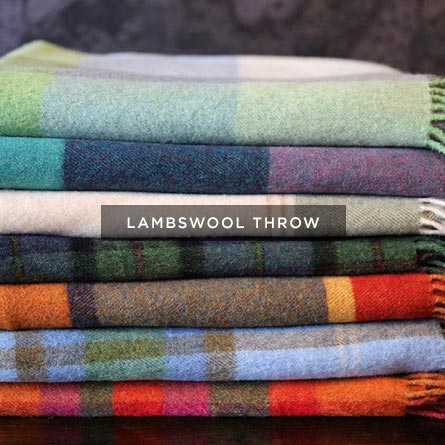 Moriartys lambswool throw