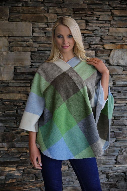 Irish lambswool ladies wrap