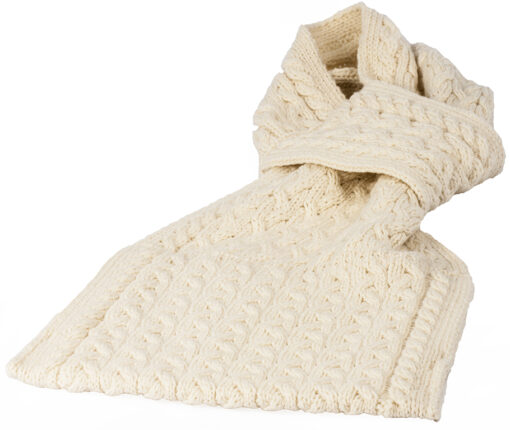 natural pull through scarf