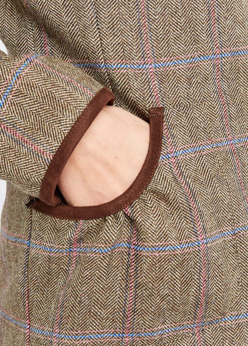 packet detail dubarry tweed jacket