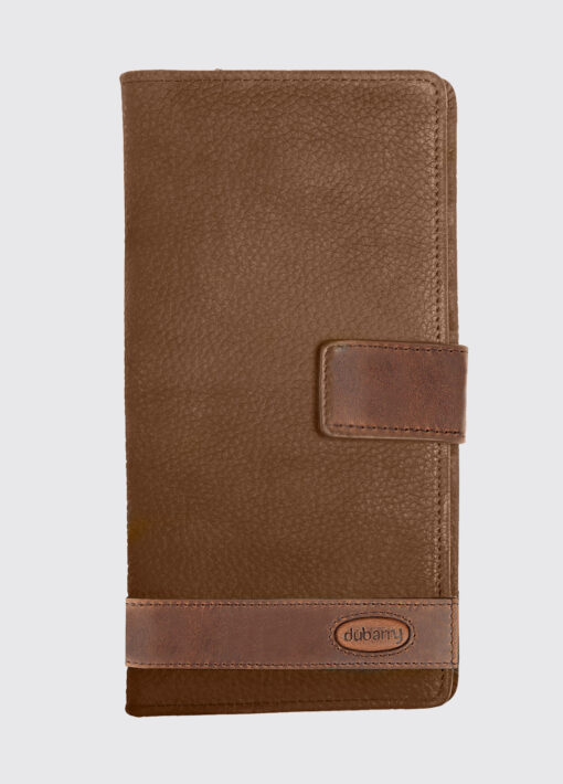 brown leather dubarry travel wallet