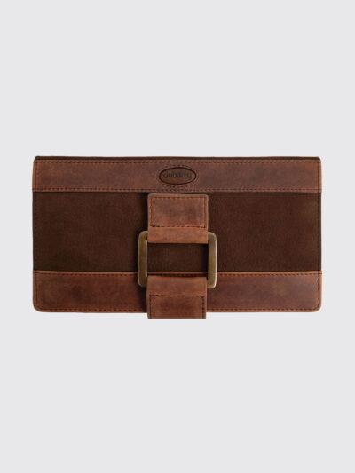 ladies leather walnut brown