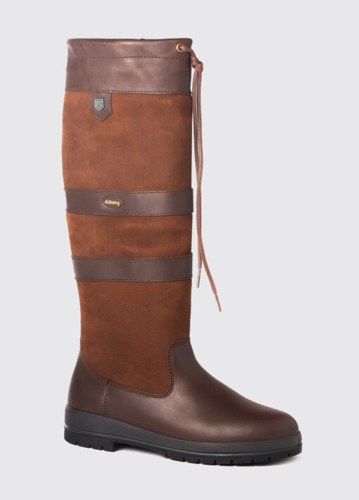 walnut leather dubarry country boot