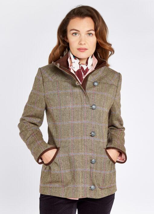 dubarry tweed ladies jacket