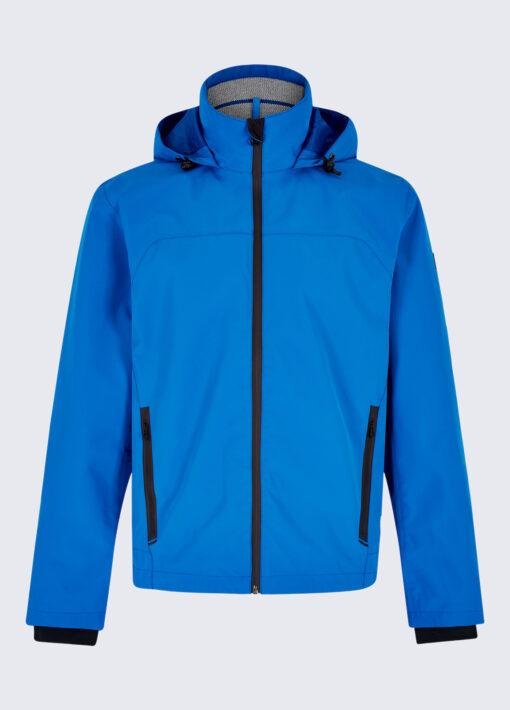 blue dubarry mens rain jacket