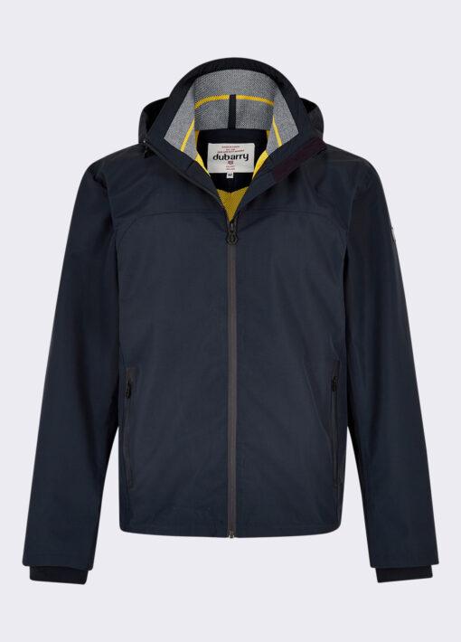 dubarry mens navy jacket