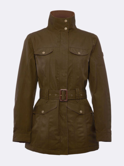 green utility jacket dubarry