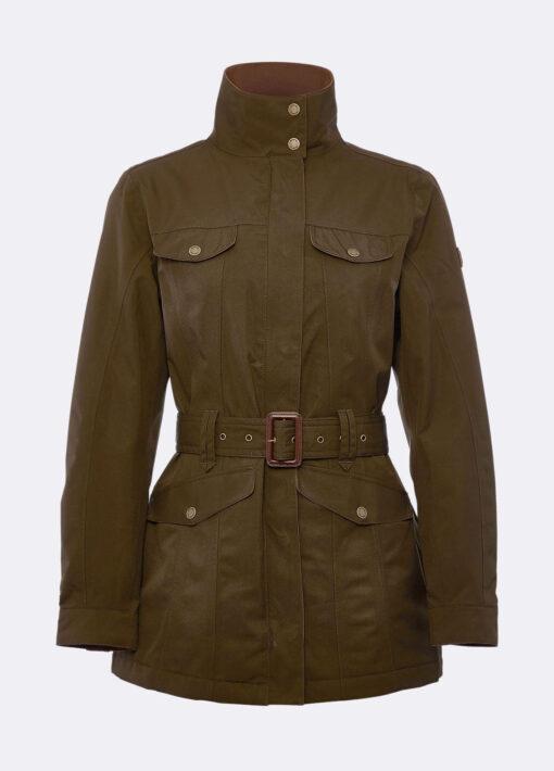 green utility jacket dubarry