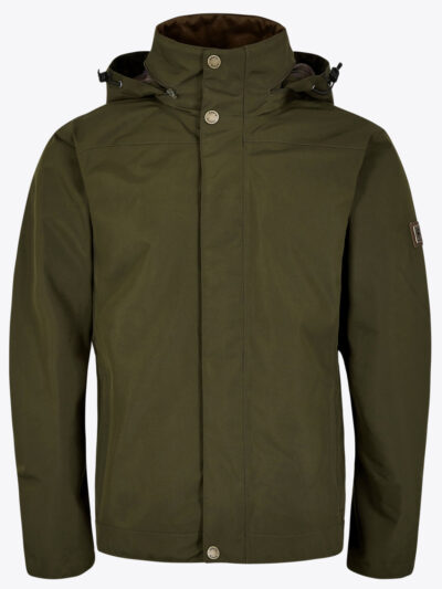 mens dubarry rain jacket olive green
