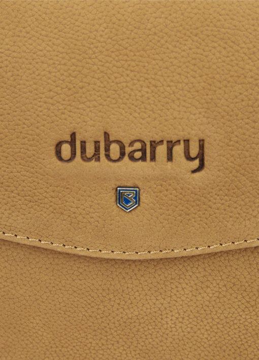 dubarry logo on messenger bag