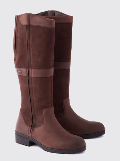 brown leather dubarry country boot
