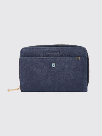 navy purse dubarry