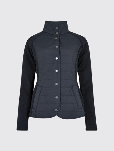 ladies navy padded jacket