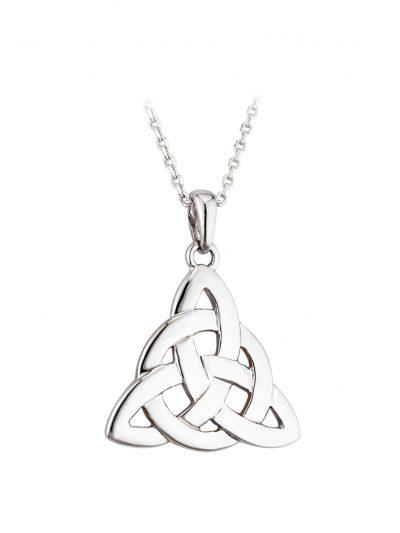 Silver Fancy Celtic Knot Pendant
