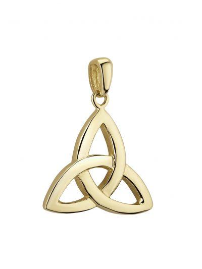 14k Small Trinity Knot Charm